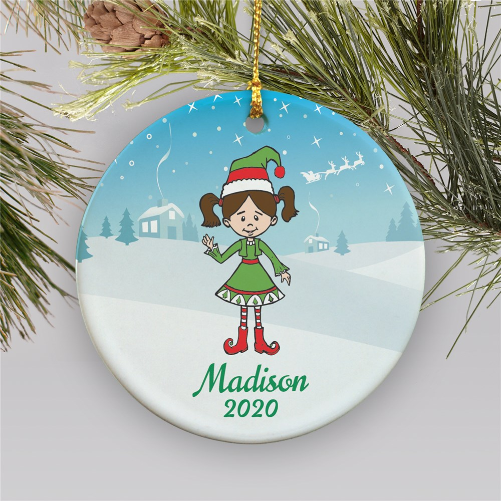 Personalized Holiday Character Ornament | Personalized Christmas Ornaments for Kids