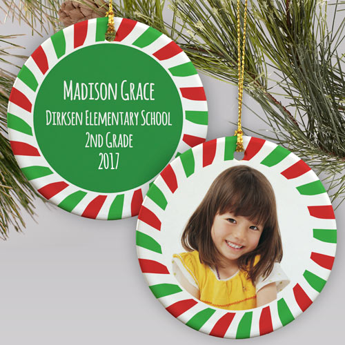 All About Me Personalized Ornament | Picture Ornaments
