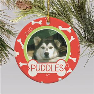 Dog Photo Christmas Ornament | Picture Ornaments
