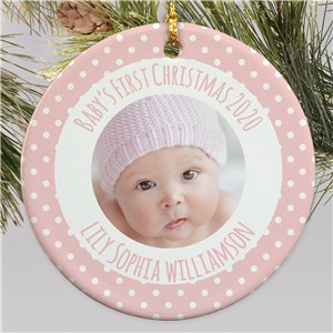 Baby's Christmas Ornament | Baby's First Christmas Ornaments