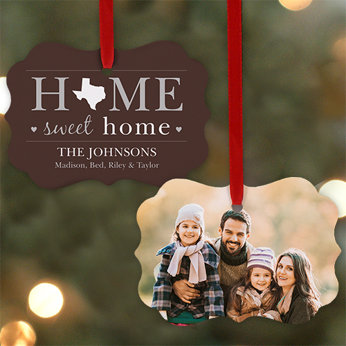 Home Sweet Home Photo Ornament | Picture Ornaments
