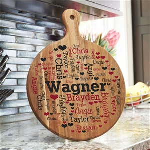 Family Word-Art Kitchen Decor | Personalized Kitchen Gifts
