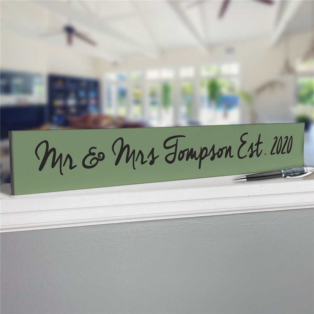 Write Your Own Sign | Personalized Wood Block Quote Sign