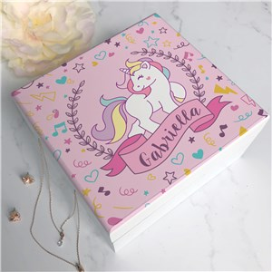 Kids Jewelry Box | Personalized Unicorn Gifts For Girls
