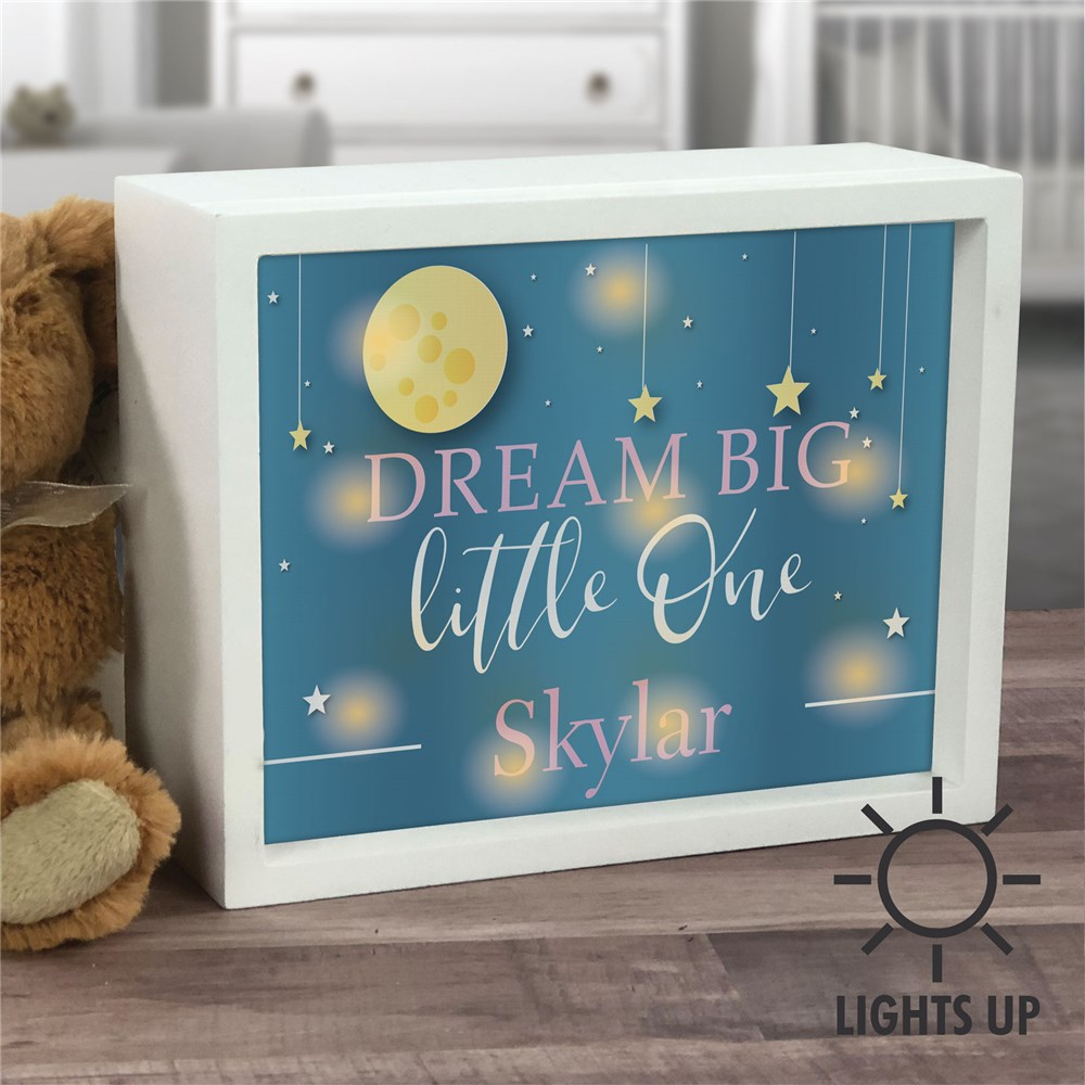 Lighted Shadow Box | Personalized Nightlight