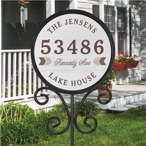 Personalized Address Stakes | Personalized Signs For Home Address