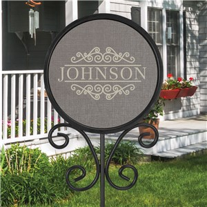 Personalized Magnetic Sign | Outdoor Magnetic Name Stake