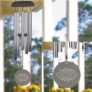 Personalized Wind Chime | Family Name Wind Chime