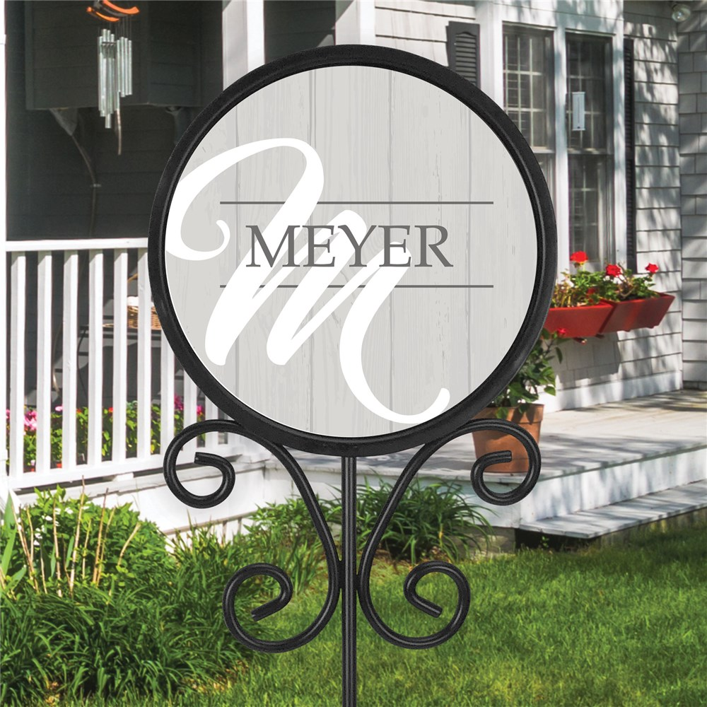 Personalized Magnetic Sign | Family Name Sign For Front Yard