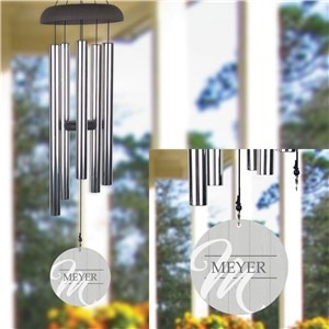 Personalized Wind Chime | Personalized Family Gifts