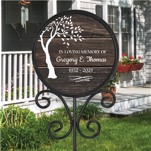 Personalized Magnetic Sign | Personalized In Memory Sign