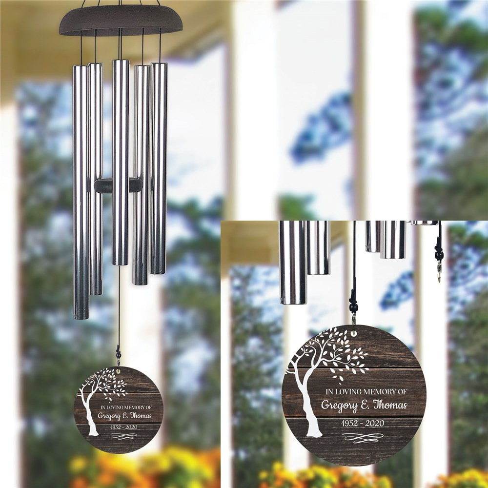 Personalized Wind Chime | Memorial Wind Chime Personalized