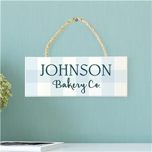 Personalized Kitchen Hanging Sign | Personalized Kitchen Decor
