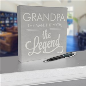 Personalized Decor for Him | Unique Tabletop Decorations