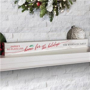 Personalized Holiday Sign | Rustic Holiday Decor