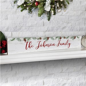 Personalized Holiday Decor | Winter Home Decor