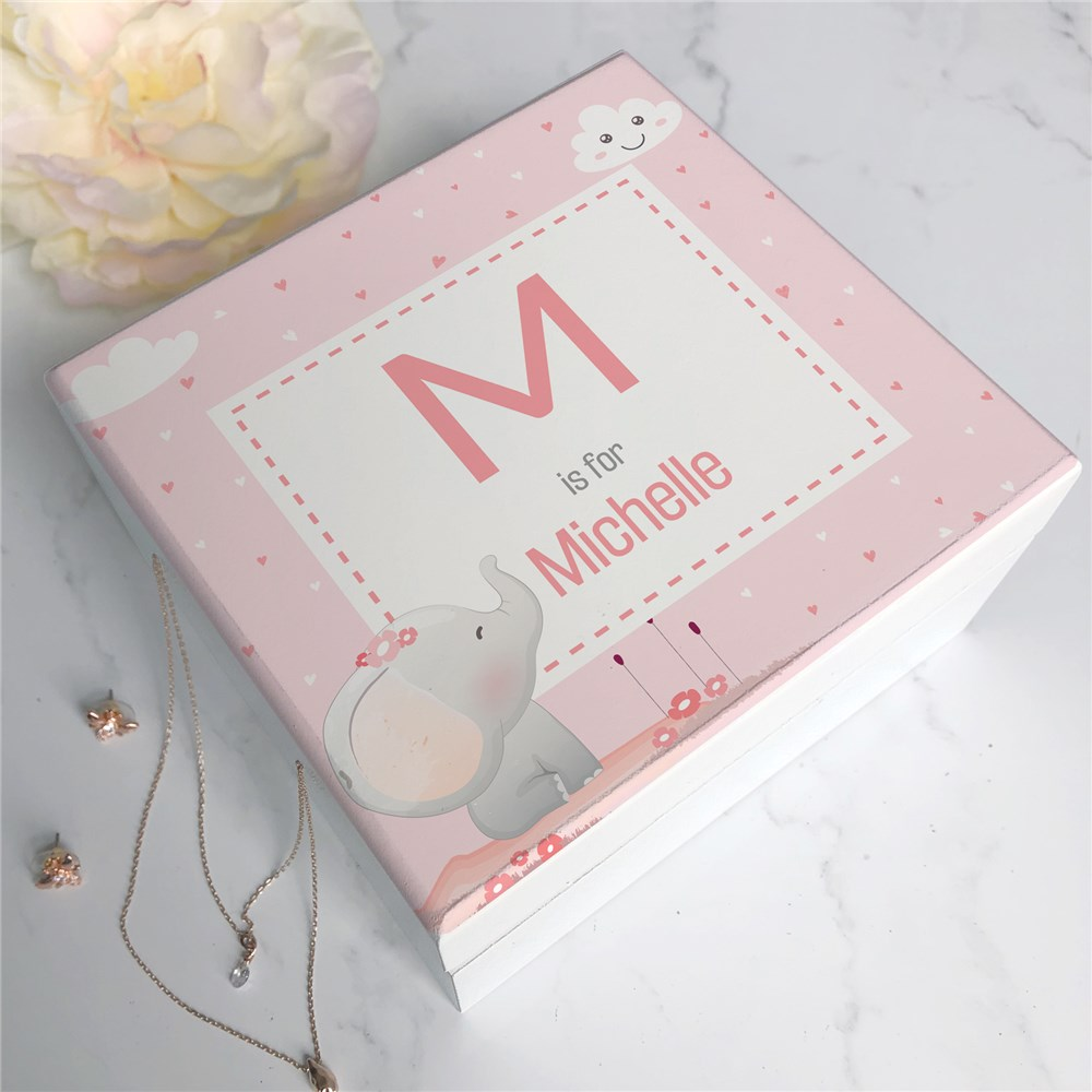 Baby Jewelry Box | Personalized Jewelry Box For Girls