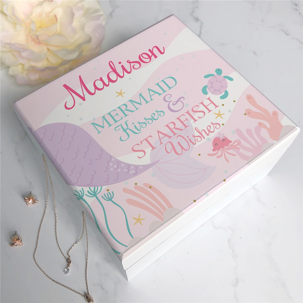 Kids Jewelry Box | Personalized Decor for Little Girl's Room