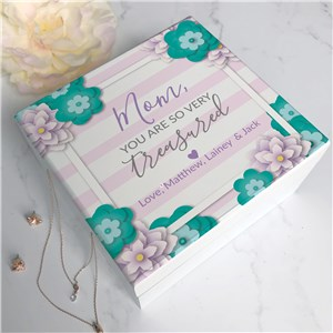 Jewelry Box for Her | Heartfelt Gift for Mom