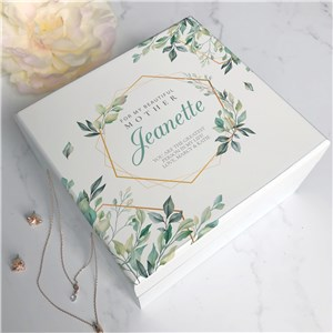 Personalized Jewelry Box | Floral-Themed Jewelry Box