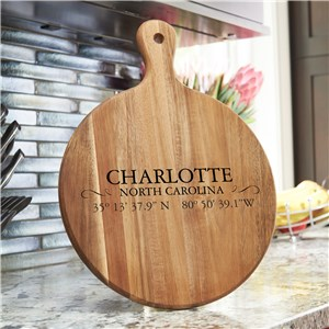 Personalized Coordinates Kitchen Decor | Personalized Kitchen Sign