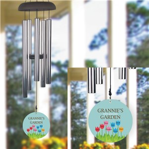 Personalized Wind Chime for Grandma