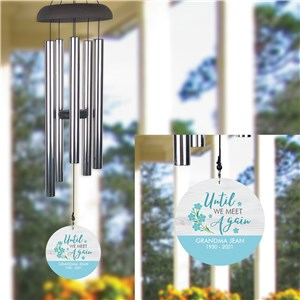 Personalized Until We Meet Again Wind Chime