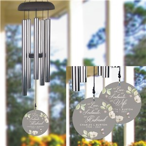 Personalized My Love My Soulmate Wind Chime