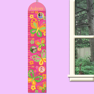 Personalized Butterfly Growth Chart V0009