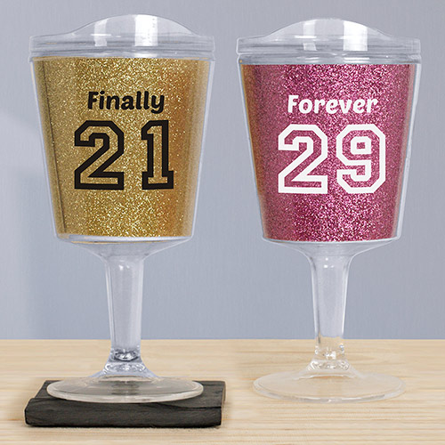 Personalized Birthday Message Tumblers V1053111X
