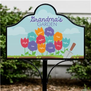Magnetic Yard Signs | Personalized Garden Signs