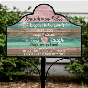 Personalized Yard Signs | Gifts For Grandmothers