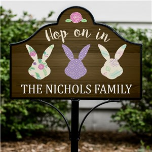 Personalized Easter Home Decor | Personalized Yard Signs