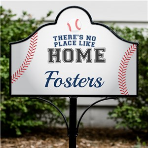 Personalized No Place Like Home Magnetic Sign | Personalized Yard Signs