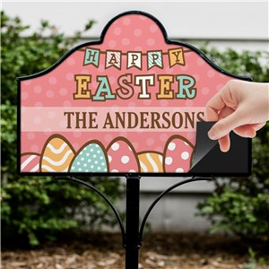 Personalized Easter Decor | Outdoor Decor For Easter