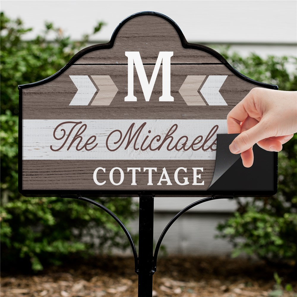 Personalized Magnetic Sign | Magnetic Home Sign