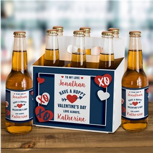 Valentine's Day Beer Carrier | Beer Labels for Valentine's Day