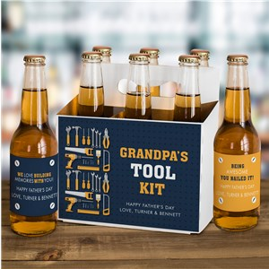Personalized Love Building Memories With You Beer Labels and Carrier Set