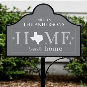 Housewarming Lawn and Garden Decor | Home Sweet Home Signs