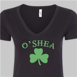 Black Irish Shirt For Her | St. Patrick's Day T-Shirts