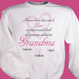 How Much Love Personalized Sweatshirt