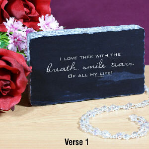 Love Inspiration Keepsake | Valentine Keepsake Gifts