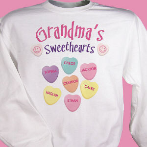 Sweethearts Candy Sweatshirt