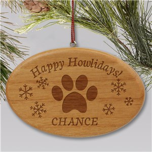 Engraved Pet Ornament | Dog Ornaments