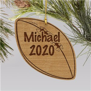 Personalized Football Christmas Ornament | Football Ornaments Personalized