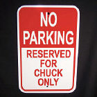 Personalized Parking Sign