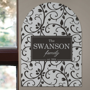 Personalized Family Name Wall Sign