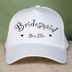 Bridal Party Baseball Hat