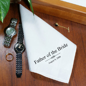 Wedding Personalized Wedding Men's Handkerchief