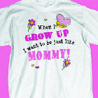 When I Grow Up - Butterfly Youth T-Shirt